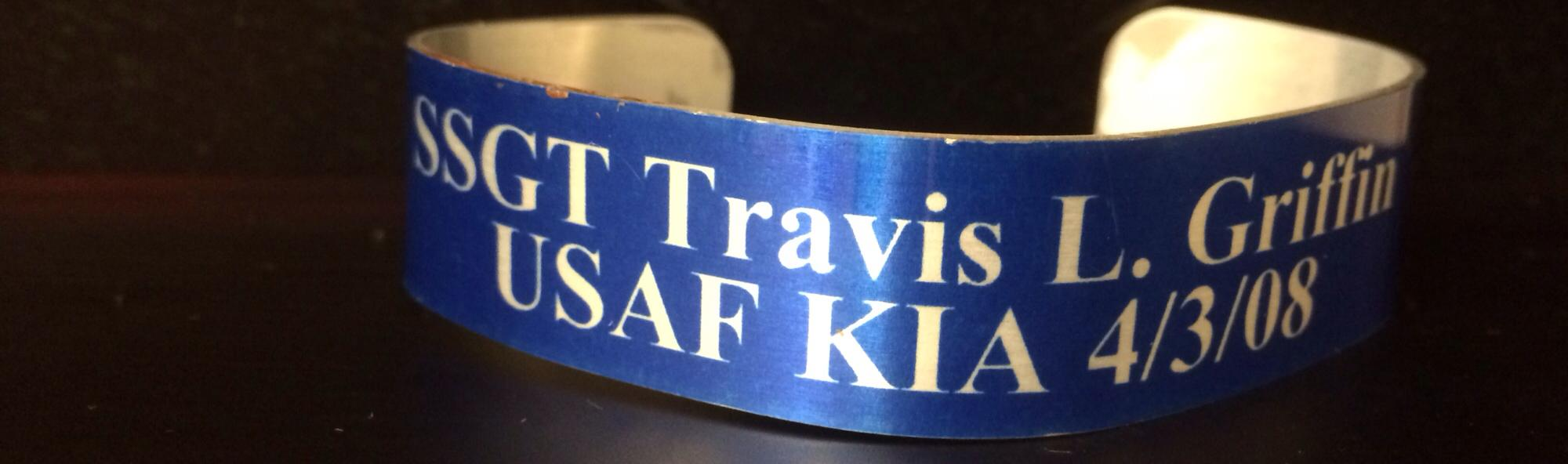 Griff's Memorial Bracelet