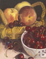 Fruit Basket and Cherries/Original Oil     $225