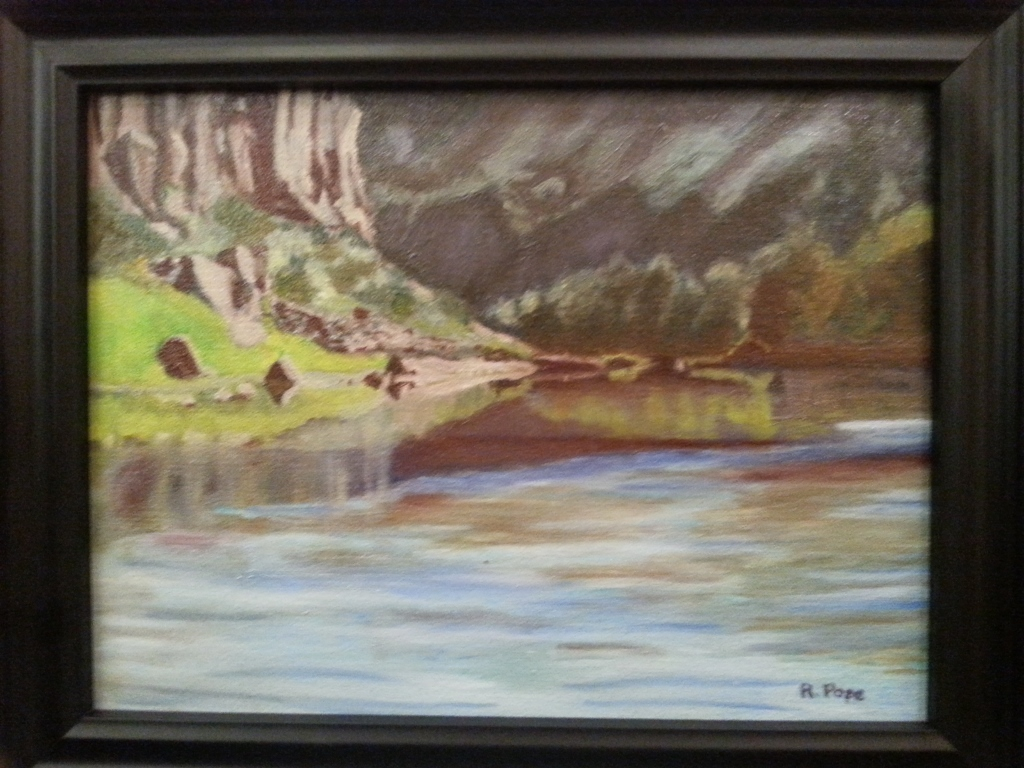 Canyon River/Original Oil      $145