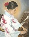 Oriental Musician/ Original Oil    $375