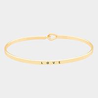 Gold Love Knot Cuff Bracelet
