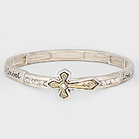 "OUT OF STOCK-""Fruit of the Spirit"" Cross Stretch Bracelet"