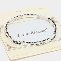 """I AM BLESSED"" INSPIRATIONAL MESSAGE"
