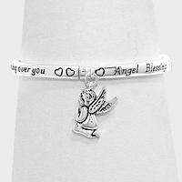 """""""Angel Blessing"""" Heart Bracelet"""