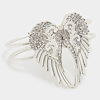 OUT OF STOCK-Silver Burnished Angel Wings