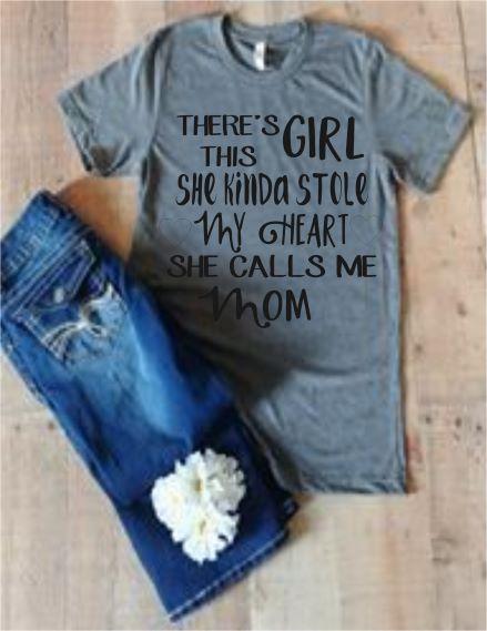 Girl Mom T-Shirt