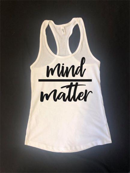 Mind Over Matter - White Tank