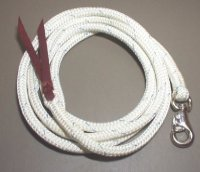 12' Lead Rope with Bull Snap