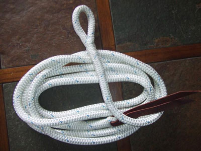 12' Lead Rope with an Eye Splice