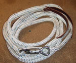 12' Lead Rope with Stainless Steel Panic Twist Snap