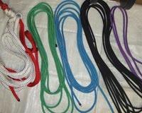 Green Handmade Rope Halter