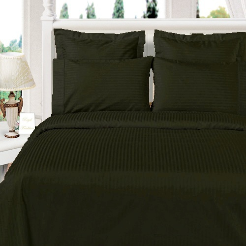 Royal Tradition. Sateen Stripe super soft 100% Microfiber Sheet sets. Bedtime has never been so inviting. Make your bed without draining your wallet and take your pick of a Twin, Full, Queen, King or California King-sized microfiber sheet set from Egyptian Linens. Each hotel collection, wrinkle-free set comes with a flat sheet, a fitted sheet and two pillow cases (Twin-sized comes with one pillow case). These sheets come in a rainbow of colors and have deep pockets to fit most mattress sizes. Save big on some super awesome sheets with today's specail deal and also get FREE SHIPPING.