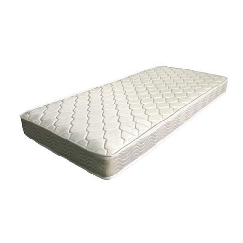 The twin size comfort 6-inch thick mattress holds true to its promise it is designed to keep your vertebrae supported. We owe this to comforts 480 tempered steel independently-encased coils which creates an equal weight distribution to help relieve any pressure points along your neck shoulders back and hips. Another advantage to the independently-encased coil structure is it reduces motion disturbance. This mattress offers better comfort of much thicker 8-10 inch mattresses.