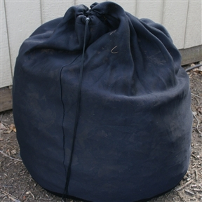 100 Gallon Compost Sack for Home Composting - Portable Composter, RPCS3468 :  This 100 Gallon Compost Sack for Home Composting - Portable Composter is portable and fits inside an average shoe box. Easy to Use Set-up takes under 1 minute. Made from Rot-Proof material for years of work use; Custom Pull Cord locking system; Ability to be stained or painted to match exterior setting; 5 Year warranty; Rotation Frequency: 4; Color: Black. Non-Toxic: Yes; Weather Resistant: Yes; Odor Resistant: Yes; Stain Resistant: Yes; Warp Resistant: Yes; Mildew Resistant: Yes; Algae Resistant: Yes; Insect Resistant: Yes; Rodent-Proof: Yes; UV Resistant: Yes; Fade Resistant: Yes; Crack Resistant: Yes; Child Safe: Yes; Pet Safe: Yes; Tumbler: Yes; Foldable: Yes. Compost Completion Time: 11; Number of Interior Chambers: 1; Aeration Holes: Yes; Number of Access Doors: 1; Vents: Yes; Weight Capacity: 80lbs. Commercial Use: Yes.