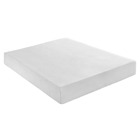"This Queen size 10-inch Thick Memory Foam Mattress consists of two layers: a 3-inch top layer of breathable Memory Foam and a 7-inch bottom layer of responsive support foam. Together, they provide full body support without heat build-up so you can experience a comfortable, deep sleep. Reduced tossing and turning throughout the night; Relief from pressure points that cause mid-sleep awakenings; Provides proper spinal alignment; Dust mite and allergen resistant memory foam; No mattress flipping required; Support Layer: 7"" Premium Memory Foam; Comfort Layer: 3"" Memory Foam."