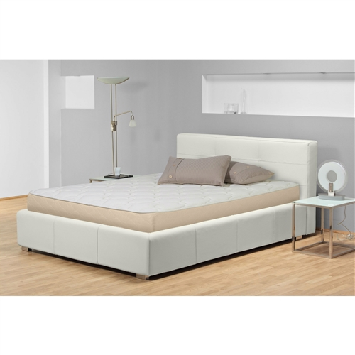 This Full-size Premium Upholstered 9-inch High Profile Innerspring Mattress was designed with support in mind, and it delivers like none other. This piece boasts a firm high-profile 288 innerspring system with premium upholstery and a soft fabric cover, creating an altogether superior sleeping experience in every way. This splendid mattress features a no-flip design, easy as cake, offering a single dependable surface for many years of sweet, sweet slumber. Choose from a variety of sizes to find what best suits your needs, then feel the magic unfold as you're swept into a rest so sublime you'll never want to leave.