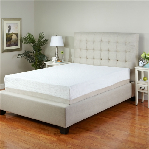 "This King size 11-Inch Medium Firm Tri-Zone Latex Foam Mattress with Cover is a premium latex mattress at an affordable price. Environmentally friendly latex is very similar to memory foam, it conforms to your body's curves, aligning the spine during sleep. This helps alleviate pressure points and reduce tossing and turning, so you can have a more restful night's sleep and wake up feeling refreshed and greengerized. Latex bounces back into shape quicker than memory foam, so the feel of the mattress is slightly more firm and bouncy than memory foam. Latex foam is all natural and environmentally friendly; Mattress ships compressed for quick and easy delivery and setup; Made from 100% pure medium firm Belgium tri-zoned latex; Mattress include 7"" of the base foam; Fire retardant cotton fiber: FR detergents are N-Dimethoate; Phosphorodithioic Acid Ester. Mattress will work with an adjustable bed."