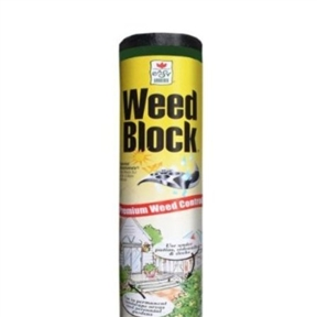 "3' x 100' Weed Control Herbicide Alternative Landscape Fabric, EGWBLF3X100 :  With this 3' x 100' Weed Control Herbicide Alternative Landscape Fabric you can stop wasting time pulling weeds and you'll have more energy to enjoy your garden. WeedBlock Landscape Fabric not only deters weeds, it encourages root growth by keeping soil moist and cool. Made of UV-treated polyethylene, WeedBlock features patented ""Microfunnels"" that allow the free flow of air, water and nutrients to soil while blocking sunlight - and weeds! Let's water through to roots; Stops weeds for years."