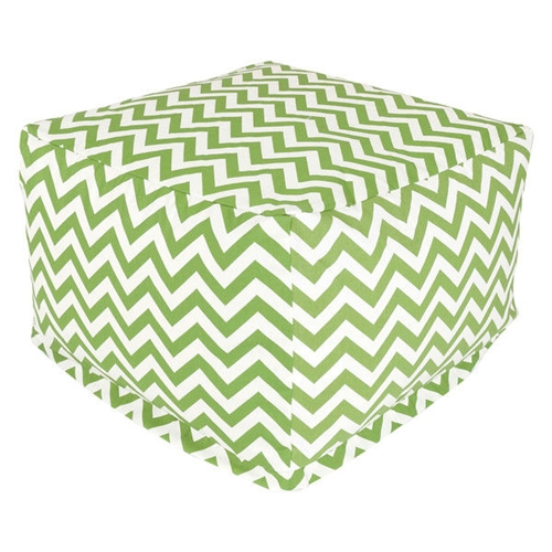 This Sage Green and White Chevron Stripe Bean Bag Chair Ottoman Footstool has a beautiful design, which is the perfect addition to the existing home setting, and in the patio, lawn, or garden. The Sage Green and White Chevron Stripe Bean Bag Chair Ottoman Footstool has 50-percent recycled polystyrene beads that make it durable and comfortable to use. This ottoman is woven with outdoor treated polyester, which makes it durable and perfect for outdoor use. It has a zig zag pattern and square shape that looks charismatic and adds class to its contemporary style. It is available in multiple colors that give you several options to select your favorite color. It is water-resistant, which makes it perfect to use in all weather conditions. This ottoman is also resistant to fading, rusting, and mildewing. It is equally suited to use this ottoman for indoor, outdoor, and commercial use. It has the capacity to hold weight up to 300 pounds. This stylish and well-designed ottoman is practical to use as a chair, footstool, or side table, and looks attractive as an outdoor ottoman in the patio, lawn, or garden. This stylish ottoman is eco-friendly, which makes it equally suitable for both indoor and outdoor use. It can be machine washed gently with cool water.