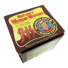 """One Thousand Live Worms 1,000 Red Wigglers for Composting, UJW30195 :  The redworm is known as """"Natures Wonder Worker,"""" It eats its own body weight in compost daily. Just simply put a bag (1000 Count) of One Thousand Live Worms 1,000 Red Wigglers for Composting in your garden or compost pile and reap the best organic soil available without chemicals or fertlizers. Healthy soil equates to a garden of plentiful fruits and vegetables. The redworm also makes a delicious bite sized hi-protein treat for any aquarium fish or reptile. Trout and Pan fishermen see excellent results also. Improves germantion, plant growth, and crop yeild while improving root structure' Restricted state: Hawaii."""