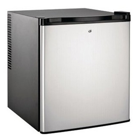This Culinair 1.7-Cubic Foot Compact Refrigerator in Silver & Black is ideal for the dorm room, office, bar, bedroom, and nursery. The state-of-the-art technology is featuring thermoelectric technology and ultra quiet internal fan for air circulation. Each fridge has an auto-defrost feature and a temperature controller for worry-free, efficient operation. A flush back design with adjustable feet for leveling makes this fridge dynamo easy to set up and use in smaller environments. An adjustable thermostat, adjustable shelving, 2 liter door bracket, interior light, and a reversible door round out this 1.7-cubic foot capacity refrigerator. Our family of kitchen appliances has been designed with your family in mind. Simple to operate and gracefully stylish, each Culinair product is made to complement any home for all your kitchen needs.