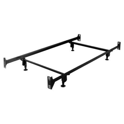 twin size sturdy metal bed frame with headboard and footboard brackets product code tsmbhdf691
