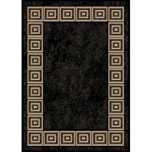 8' x 10' Optimum Black Area Rugs with White Squares Design, TARB8101249 :  At long last, a 8' x 10' Optimum Black Area Rugs with White Squares Design that is beautifully detailed and stylishly colored. From the stunningly contemporary colors of Black and Red, to the soft antique tones of Ivory, Gold, and Green, Optimum rugs from Home Dynamix prove that an upscale, luxurious look needn't be expensive. Power loomed of durable and easy to care for polypropylene yarn, these rugs are soil, stain, and fade resistant. Best of all, each Optimum rug from Home Dynamix rug is available in a range of five sizes, so your customers will be sure to find the perfect rug to complement their décor. 8 color polypropylene. Unsurpassed in cost and value.
