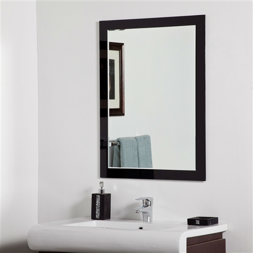 Creativeworks home decor bathroom mirrors for Types of mirror frames