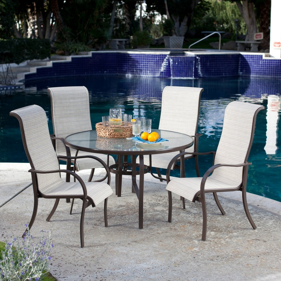 High back patio furniture home design ideas and pictures for Back porch furniture sets
