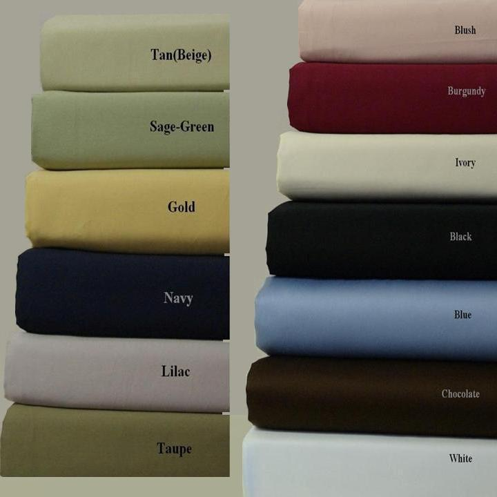 Attached Waterbed Sheet Set 600 Thread count Egyptian cotton: Available for Queen & King:  Fitted & Flat sheets are attached at the footer so bed stays made,  **Poles are not included**