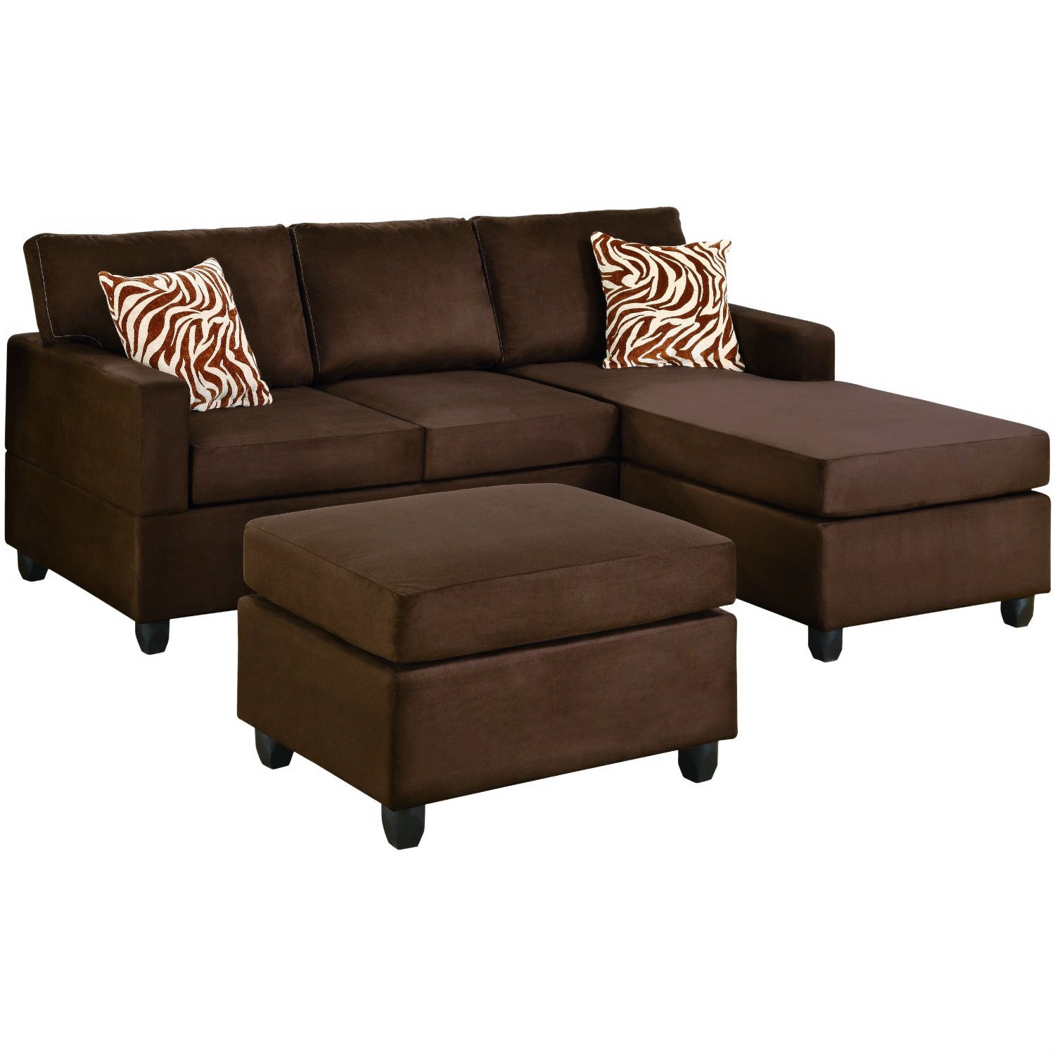 Creativeworks home decor sofas for Affordable furniture 3 piece sectional in wyoming saddle