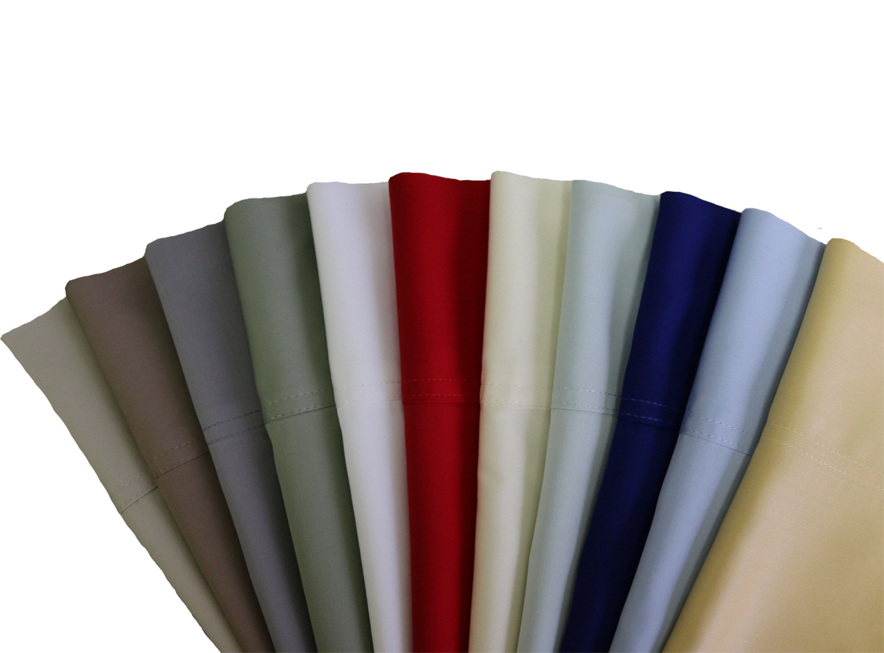 "Royal Tradition: Super Soft 100% Viscose from Bamboo Sheet Sets. Wrap your self in the softness of the luxurious 100% Rayon from Bamboo sheets like those found in royalty homes. You won't be able to go back to cotton sheets after trying these 100% Viscose from Bamboo sheets. Amazingly soft similar to cashmere of silk. 60% more absorbent than cotton. Sustainable, fast growth rate over 1 meter per day. Requires significantly less pesticides than cotton and is naturally irrigated. Natural anti-bacterial and deodorizing properties.*"" Viscose from Bamboo "" or "" Rayon from Bamboo"" are both interchangeable common terms used when referring the Bamboo fabric derivatives. Bamboo woods undergo additional process before the fibers are spun into yarns. Therefore, bamboo yarns are turned into a Viscose or Rayon than woven to create bamboo fabrics.* Bamboo is one of the fastest growing plants because of it's ability to absorb water and is thus a very environmentally friendly material. These are the "" Greenest Sheets"" around. This explain why bamboo sheets wick so much water away from the body, keeping people dry and comfortable."
