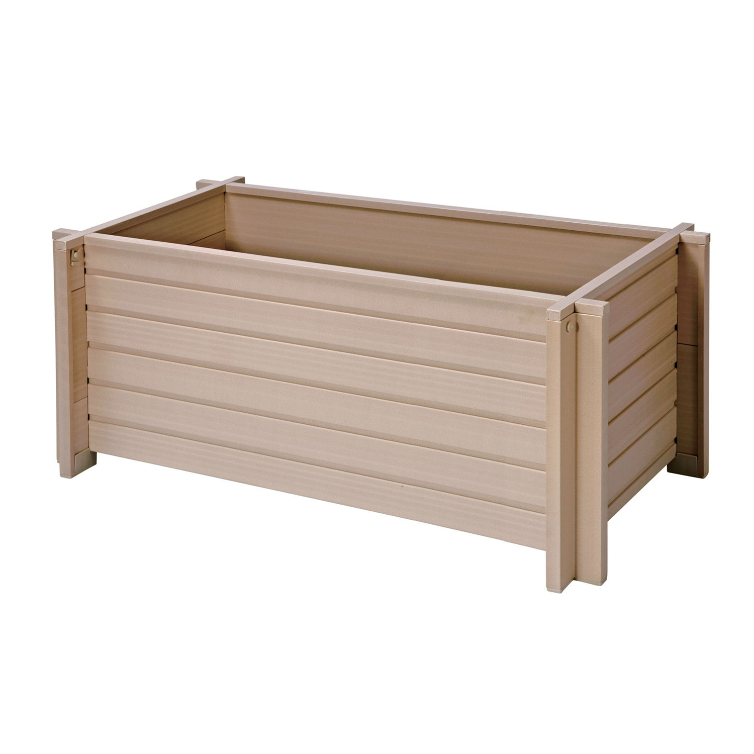 30-inch Wide Rectangular Planter Box, EFRP5931 :  This 30-inch Wide Rectangular Planter Box would be a great addition to your home. It has durable and water repellent and no maintenance required. Doesn't warp, crack, split, twist; Durable and water repellent; Outlast wooden planters at least 4 to 1; No maintenance required; Looks great for years.