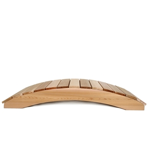 4-Ft Garden Bridge in Western Red Cedar - Holds up to 800 lbs, ATC5418135 :  This 4-Ft Garden Bridge in Western Red Cedar - Holds up to 800 lbs would be a great addition to your home. Manufactured using clear grade western red cedar. Pre-drilled holes; Handcrafted for snug fitting joinery; Edges routed for clean uniform appearance; Finely sanded finish; Natural unstained finish; Country of Manufacture: Canada.