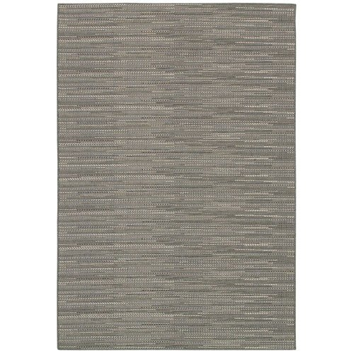 5'3 x 7'6 Neutral Grey Flat Woven Area Rug Indoor Outdoor, CML5376991 :  Relax in the comfort of your home with this 5'3 x 7'6 Neutral Grey Flat Woven Area Rug Indoor Outdoor. The varying motifs, ranging from graphic stripes to geometric patterns, are sure to fit in seamlessly in both your outdoor spaces and indoor rooms. These multi-purpose area rugs are constructed in a unique structured flat weave, boasting a smooth surface that is perfect for outdoor or indoor use. Woven using 100% fiber-enhanced polypropylene, each of the subtle patterns offer a highly durable pile with little upkeep required. Designed specifically to withstand outdoor elements, is UV stabilized to ensure each area rug in the collection retains its color due to sun exposure and other weather conditions, as well as mold and mildew resistant.