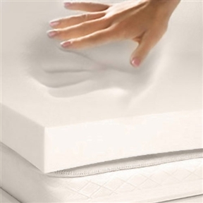 "This Twin size 3-in thick 4-lb Memory Foam Mattress Topper Mattress Pad has the ability to reduce pressure points is one of the reasons so many people are using it to get the best night's sleep. Now you can enjoy the benefits of memory foam without having to buy a new mattress by adding this memory foam mattress topper to your existing spring, latex or even memory foam mattress. This topper will add comfort and increase the quality of sleep from your mattress immediately. Three inches of four-pound density memory foam used in this topper is specifically designed to enhance the feel of your current mattress and also provides additional support in areas where your mattress may be dipping or sagging. The foam is also specially formulated to contour to your body at any temperature and will give you the extra comfort you need to get the best night's sleep possible from your current mattress. Our toppers have also earned the PURGreen certification, which means they are manufactured, fabricated and packaged in the U.S.A. meeting all EPA and CSPC standards being safe and free from harmful chemicals. PURGreen uses independent laboratory results to qualify products and ensure they are manufactured without the use of ozone-depleting substances such as Chlorofluorocarbons, Polybrominated Biphenyl Ether substances, Harmful Metals, Formaldehyde, Prohibited Phthalates or any other unsafe materials. PURGreen also implements baseline requirements such as conserving water, energy and other natural resources in the manufacturing processes established through internationally accepted ISO standards and procedures. There may be a new foam smell associated with your new topper; however, this odor is not toxic or harmful passing all PURGreen, EPA and CSPC standards. MADE IN THE USA. Your memory foam mattress topper has been compressed and vacuum sealed for shipping purposes. Please carefully unpack the memory foam from the sealed packaging and lay completely flat allowing your topper to fully decompress for up to 96 hours at 72 degrees in cold weather. In warm weather the topper will expand rapidly; however, it will need time to ""cool"" down to an ambient room temperature of 72 degrees. Your memory foam topper is temperature sensitive and this is why it needs to reach an ambient temperature of approximately 72 degrees. U.S. made foam does not contain any toxic ingredients like formaldehyde or PBDE, polybrominateddiphenylether, but it can have new foam smell that lasts for a couple of days to a couple of weeks, based on the time of year the foam is produced. The foam smell does not necessarily trigger allergies; however, it can be bothersome to some people who have a sensitivity to smell. If the smell bothers you, try airing out the room and washing the sheets after a few nights of sleep on the new mattress."