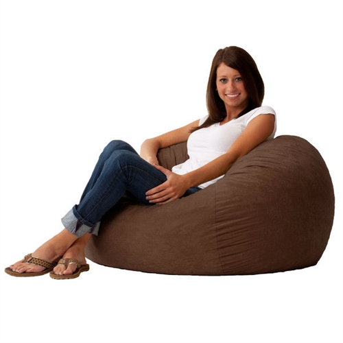 This Espresso Brown Suede Medium Size Bean Bag Chair - Made in USA is the perfect combination of style and functionality. Designed to perfection, this bean bag offers ultimate comfort as it uses patented memory foam. The cover is made from soft suede fabric that is soft to touch. It is also durable, so you can enjoy its appeal for a long time. You can place it in the bedroom to relax or the living room to enjoy a movie. The Espresso Brown Suede Medium Size Bean Bag Chair - Made in USA is available in multiple finishes, so you can choose one that best suits your needs.