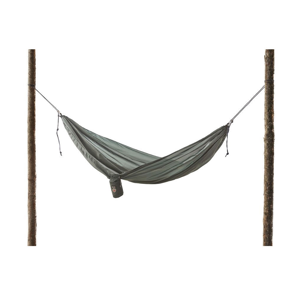 Forest Green Ultralight Hammock with S Hooks for Easy Hanging, FGUH1985 :  At roughly 12-Ounce, Forest Green Ultralight Hammock with S Hooks for Easy Hanging lives up to its name-this baby isn't gonna weigh you down, and even your toddler can carry it. Features durable polyester taffeta is mildew resistant and machine washable use instead of a bulky sleeping bag and tent during warm months.Strength boosted by tough S hooks and triple-stitched seams Unfolds to 9.5 x 4.5-Feet (length x width) and holds up to 250-Pounds. Weight 12-Ounce. If you are traveling or backpacking in a place where nights are colder, you can still tote this hammock along to use for relaxing around your campsite; Mildew-resistant, machine-washable fabric will stay strong and clean for years; Use For: Travel, camping, backpacking, beach & lake, home.