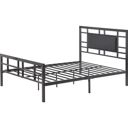 Creativeworks home decor platform beds for How tall is a standard bed frame