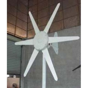 300-Watt 24-Volt 6- Blade Wind Generator with Charge Controller, C24V6B300WWG :  This 300-Watt 24-Volt 6- Blade Wind Generator with Charge Controller is popular low start up wind speed wind turbine in home yard, cabins, boats, advertising signs, telecommunications tower, etc. Thousands have been sold and are in use worldwide. People have the particular inclination for it's clean, aerodynamic lines and its quiet and continuous operation. Without any doubt GudCraft WG300 accumulates more energy than any other comparable wind generator available, you'll always see spinning in the lightest of breezes.  Quiet in operation, Brushless alternator, 360 degree free rotation on the mounting pole; Comes with integrated charge controller, instruction manual and 1-year warranty.