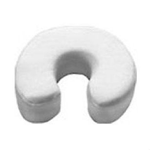 A headrest cushion of soft, breathable flannel and thick, ultra-comfortable foam, this Memory Foam Headrest Face Cradle Cushion for Massage Tables conforms to the contours of the face. Face cradle Platform sold separately.