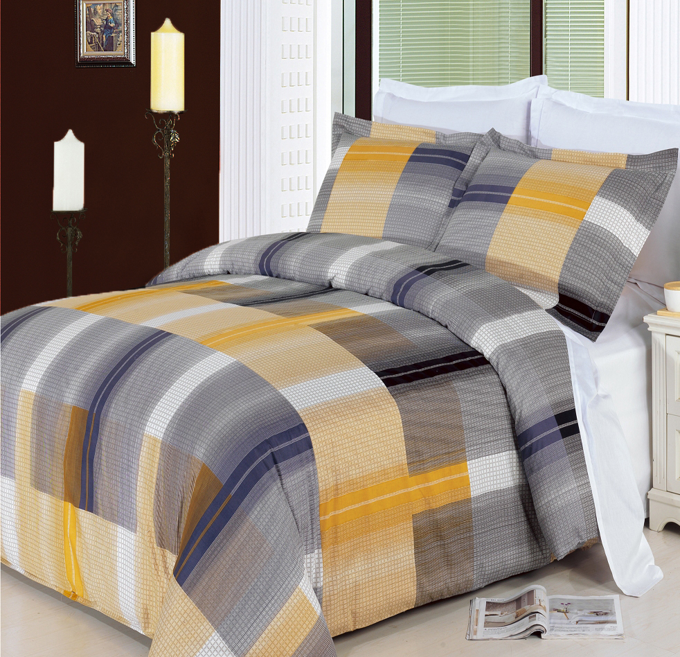 Amber Multi-Piece 100% Egyptian Cotton Duvet Set. Enjoy the comfort and Softness of 100% Egyptian cotton bedding with 300 Thread count fiber reactive prints.*100% Egyptian cotton *300 Thread count *Reactive Print, lasts longer and looks like real live pictures . Machine washable in cold water. Colors include Light Tan; Brown; Light Gray; Army Green.