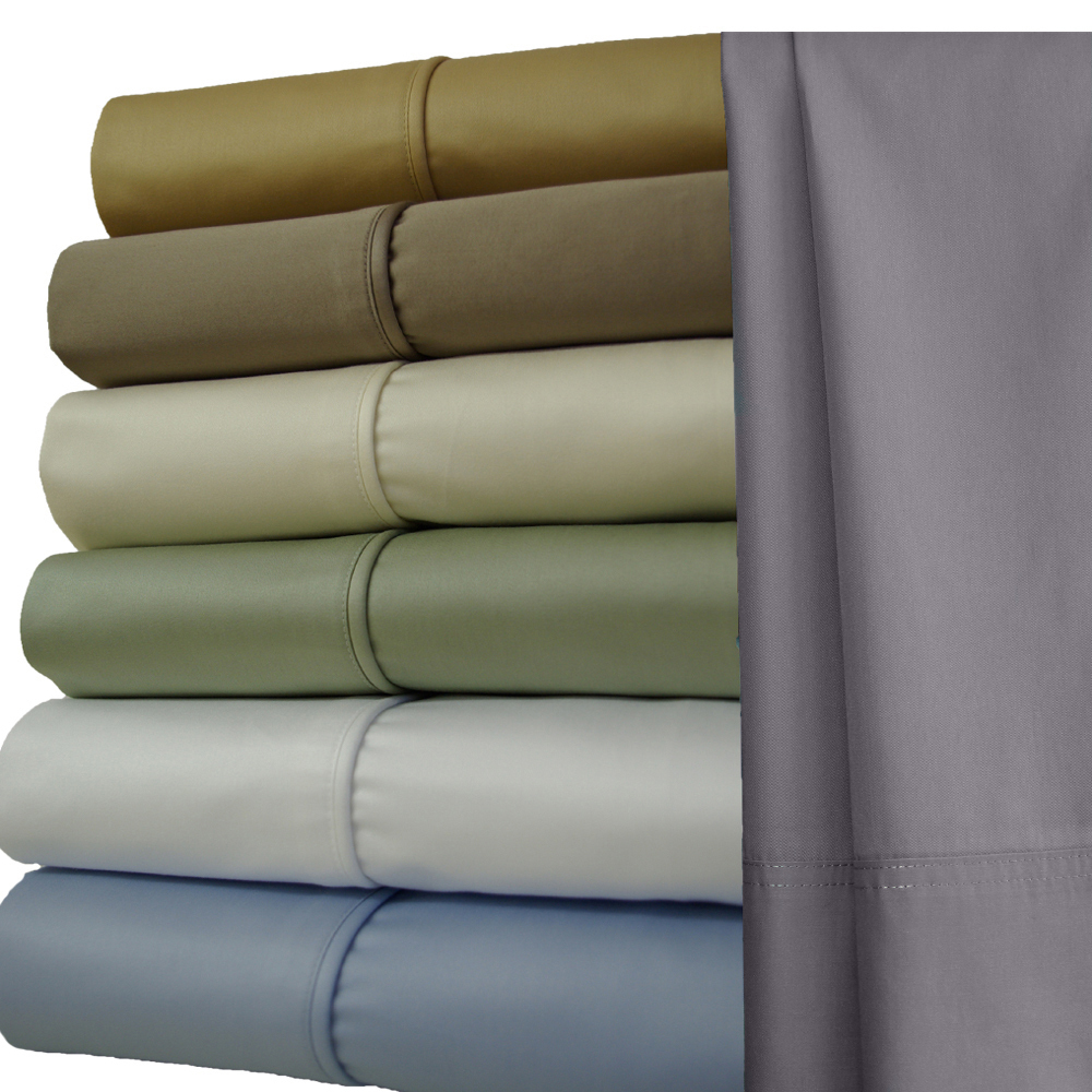 "22 Inch Super Deep Pocket 1000TC Sheets : 1000 Thread count Egyptian cotton sheet sets Super Deep pockets "" 22-inch in depth ""  , The highest thread count of Single-Ply Sateen weave in Queen,King and California king (Cal-king)sets. Our 1000 Thread count fabric is one of the best high count sheets on the Market. These luxury sheets were made with quality in mind. We used the thinnest possible Egyptian cotton yarn woven in the most advanced weaving looms to create a true master piece in bedding. As higher the thread count goes like in T1000, it makes the challenge greater to still maintain softness and durability in such thick fabric, but we deployed the best resources out there to keep this as superior as it could in terms of what's out there in same Thread count."