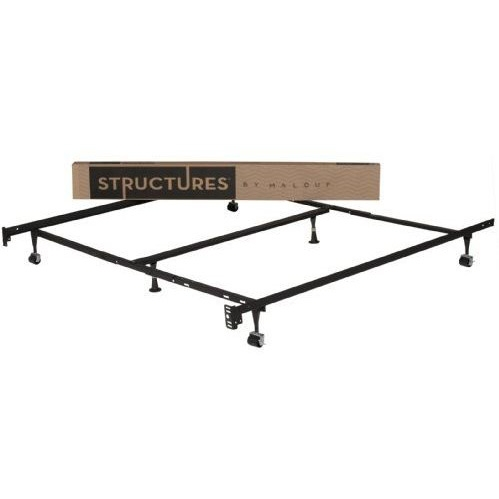Heavy Duty 6-Leg Metal Bed Frame/ Adjust to fit Twin Full Queen King, SMHD6LLAMBF: This Heavy Duty 6-Leg Metal Bed Frame/ Adjust to fit Twin Full Queen King can easily Adjusts to Fit Cal King, King, Queen, Full XL, Full, Twin XL and Twin Mattresses.