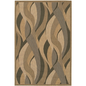 5'10 x9'2 Large Indoor Outdoor Area Rug with Modern Seagrass Pattern, CSR13951 :  This 5'10 x9'2 Large Indoor Outdoor Area Rug with Modern Seagrass Pattern would be a great addition to your home. It is made of 100% fiber-enhanced polypropylene. Category/Decorating Tip: Casual Elegance - These weather-defying area rugs are suitable for indoor and outdoor use. You'll love the way they color coordinate with today's most popular outdoor furniture pieces. The collection's naturally inspired color palette will provide a warmer and more inviting appearance for patio decks and stone entryways. Primary Color: Natural; Border Material: Synthetic; Border Color: Natural; Reversible: No; Rug Pad Needed: Yes; Water Resistant: Yes; Mildew Resistant: Yes; Eco-Friendly: No; Outdoor Use: Yes; Product Care: Vacuum frequently. Have professionally cleaned when needed. Country of Manufacture: Belgium; Product Warranty: 1 year limited warranty.