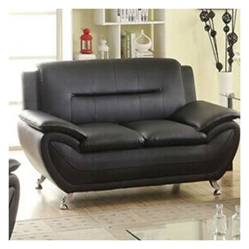 This Stylish Living Room Modern Black Faux Leather Loveseat Medium Firm brings not only the comfort but also the value to your living room. Well designed style, upgraded materials, modern design, you get everything you need for your living room. Compact design for limited spaces, you are going to create a cozy environment for your family.