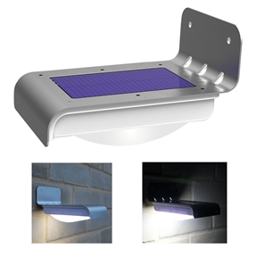 Set of 2 - Bright LED Solar Powered Wireless Motion Sensor Light, FWMSL368415 :  This Set of 2 - Bright LED Solar Powered Wireless Motion Sensor Light is a high quality light suitable as a security light or shed/garage light. The solar light uses a powerful 0.6W solar panel to charge the light during the day. At night it lights up once motion is detected and turns off 30 seconds after motion stops. The security light is easy to install with the screws and plugs provided. Specifications: -Light body dimensions: 4.75in x 3.5in x 15.in - Solar panel dimensions: 3.35in x 2.15in. Activates bright light when inside the 3 metre activation zone; No batteries, no cables, easy to fit; Modern, stylish and simple design; Solar panel life span: 5 years - LED Life Span - 50,000 hours; Kit includes one solar light, activation key, two screws and wall plugs.