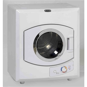 110-Volt Automatic Electric Dryer with Stainless Steel Drum, A110VAD38900 :   This 110-Volt Automatic Electric Dryer with Stainless Steel Drum can be wall mounted, vented or recirculating, manual timer and stainless steel drum. Also, it has a viewable window door.