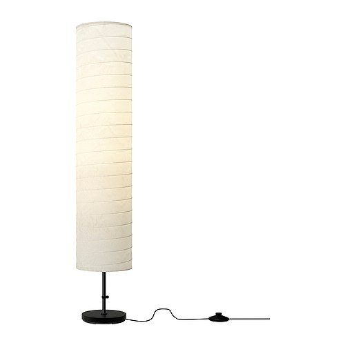 "46-inch Modern Rice Paper Shade Floor Lamp - Made in USA, 30146L29 :  This 46-inch Modern Rice Paper Shade Floor Lamp - Made in USA would be a great addition to your home. Good to know: Light bulb sold separately, Product description, Base: Polyethylene, Concrete, Cover: Polypropylene, Expander/Tube: Steel, Powder coating, Shade: Rice paper, Product dimensions, Height: 46 "", Shade diameter: 9 "", Cord length: 9 ' 2, No Bulbs Included! IKEA recommends LEDARE LED bulb E26 400 lumen. IKEA recommends LEDARE LED bulb E26 400 lumen; Part Number 896401000530; Item model number 301.841.73; Color White; Style Modern; Finish Steel; Material Steel."