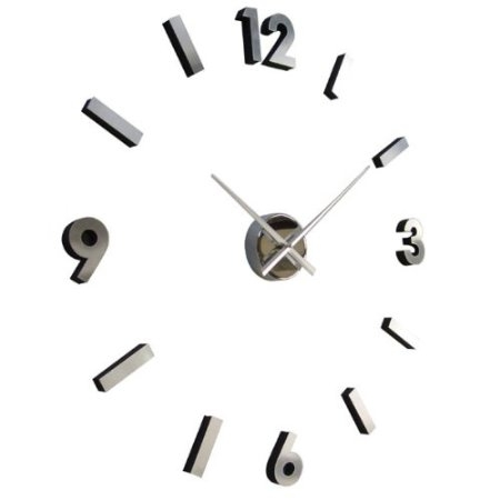 18-inch Modern Abstract Contemporary Wall Clock, SDMCAWC349 :  This 18-inch Modern Abstract Contemporary Wall Clock is an awesome Self Design Wall Clock. Slant and Slide the Numbers Anyway you Want. Great for Work or Home. A Wonderful and Fun Piece of Art for a Wall Clock.